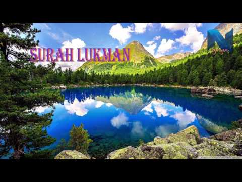 Al-Quran//Surah Al-Fatihah,Lukman,Al-Hujrat,At-taubah,Maryam,Yusuf,Yasin,An-Nahl(Mishary Rashid)