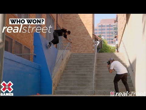 WHO WON REAL STREET 2021? | X Games 2021