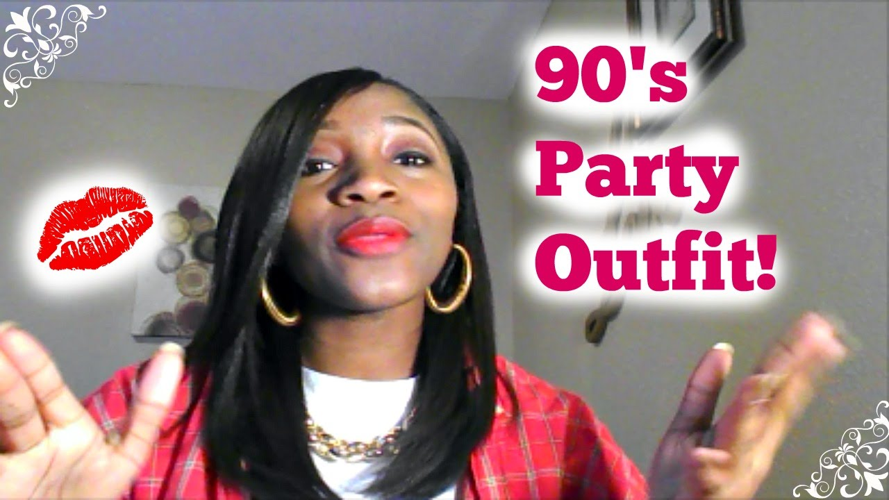 - 90s Party Outfit! - YouTube