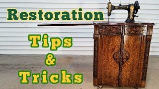 Furniture Refinishing Tips & Tricks