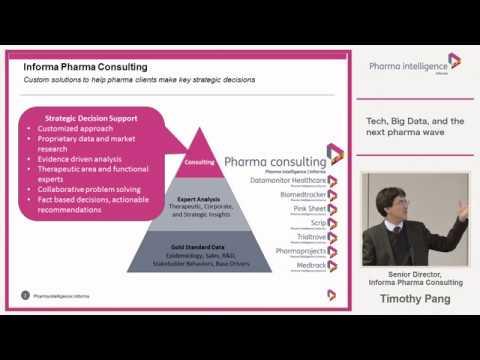 New horizons, fresh opportunities: Tech, Big Data, and the next pharma wave | informa Tokyo seminar