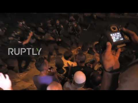 State of Palestine: Israeli security forces clash with worshippers following evening prayer