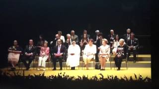 Medallas de la Ciudad de Sevilla 2017 por Plácido Domingo.
