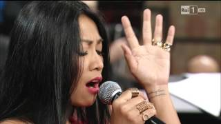 Anggun - O Little Town Of Bethlehem at San Francesco Concerto di Natale ad Assisi