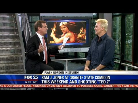 Sam Jones Flash Gordon talks filming Ted 2 Granite
