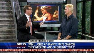 Sam Jones, 'Flash Gordon,' talks filming Ted 2, Granite State Comicon