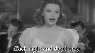 Judy Garland Karaoke - I'm Nobody's Baby - Vocals Removed - 1940