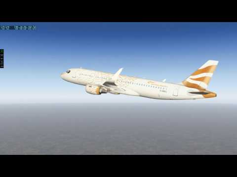 (X-Plane 11) Heathrow to Manchester - Airbus A320-214!