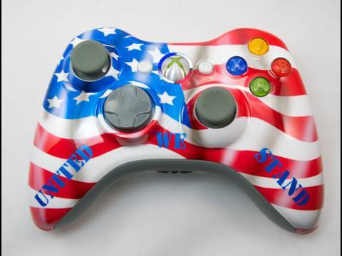 How to Paint a Patriotic Xbox 360 Controller by ...