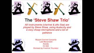 Mozart Clarinet Concerto - Last Movement - Rondo