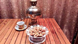 Творожное печенье! Лакомство к чаю!