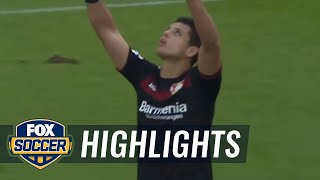 Chicharito goal pulls Leverkusen back into the game | 2016-17 Bundesliga Highlights by : FOX Soccer