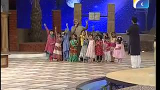 Naat Ahmad raza qadri on Geo Tv aamir liaquat program(18 August, 2012)