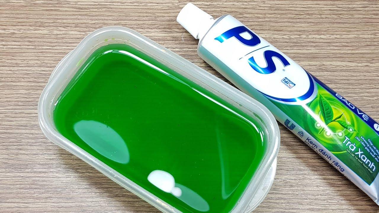 Hướng Dẫn Cách Làm Slime Trong Suốt Với Kem Đánh Răng P/S