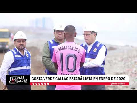 Costa Verde Callao estará lista en enero de 2020
