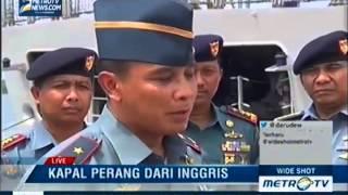 KRI Bung Tomo 357 Tiba di Pelabuhan Belawan (MetroTV) Mp3