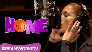 Jennifer Lopez - Sentir La Luz (Official Lyric Video) | HOME