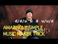 Amazingly simple music maker trick (Create music fast)