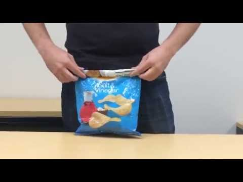 How To Seal A Bag Of Chips Without Using A Bag Clip