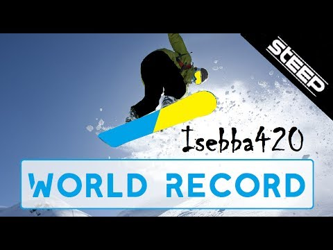 STEEP ► Dream Field World Record (26,586) by Isebba420