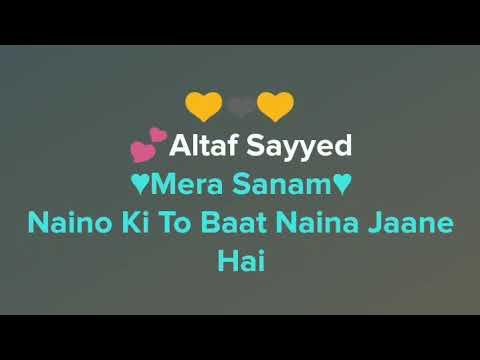 Tu Mera Hai Sanam Song Karaoke With Lyrics Clean Karaoke