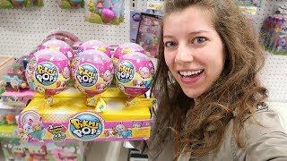 Toy Hunt #92! Pikmi Pops, Roblox série 2, shopkins 8 ª temporada de embarque para a Ásia, 90 Nickelodeon Plush