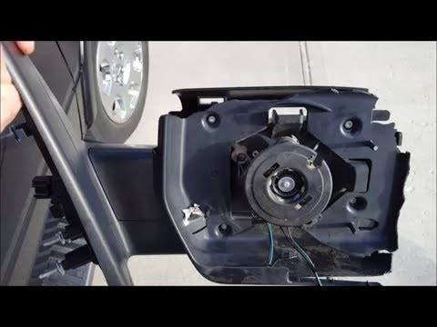 How To Replace Side Mirror on 2011 Ford 150