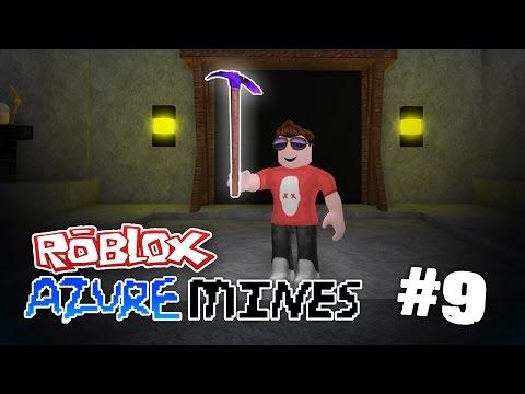 Azure Mines #9 - DRAGONGLASS AXE (ROBLOX AZURE MINES)