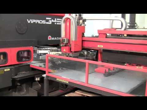 Force  Fabrication Inc. Precision Sheet Metal Fabrication Amada 345