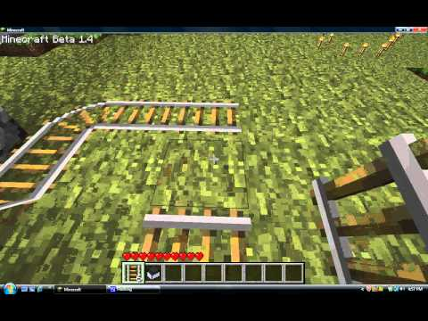 how to make a minecart with furnace in minecraft.avi - YouTube