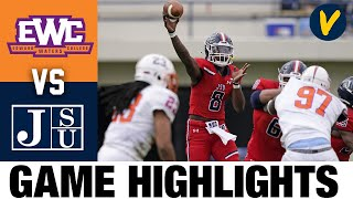 Edward Waters vs Jackson State Highlights | 2021 Spring FCS College Football Highlights