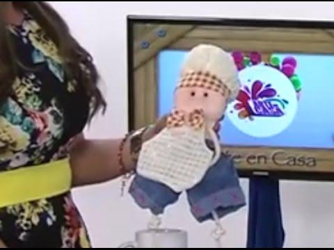 Como hacer un Muñeco-Chef de adorno para la Cocina- Hogar Tv por ...