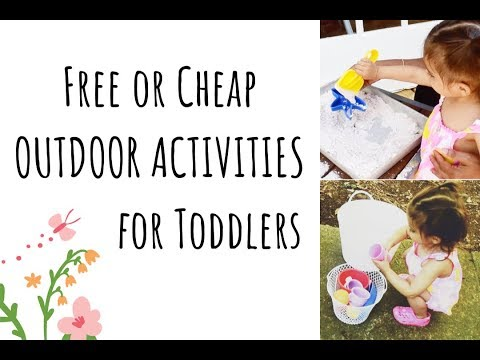 Outdoor Activities for Toddlers | Free or Cheap Outdoor Activities to Do With a Toddler | Collab