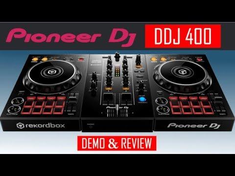 Pioneer DDJ 400 Rekordbox Controladora - Review e Demo by Guto Loureiro