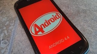 Android 4.4 (Kit Kat) Easter Egg (on Nexus S)