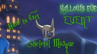 How to Get the Skeletal Masque - ROBLOX HALLOWS EVE EVENT (Darkenmoor)