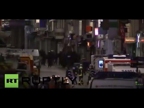 Франция: Несколько взрывов прогремело во время спецоперации