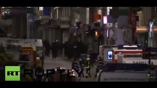 France: Several loud explosions heard as police raid targets terror suspects