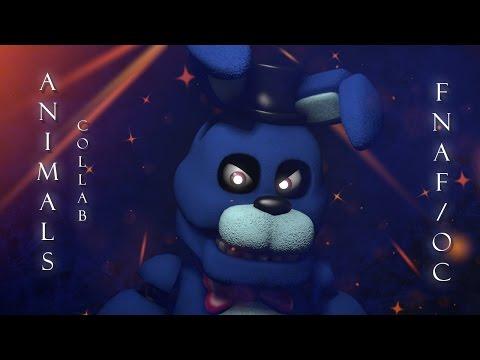 [SFM FNAF/OC] FNaF Music Video: Animals (Collab)