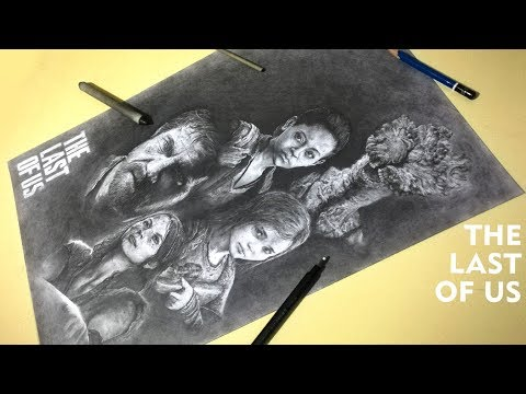 THE LAST OF US SPEED DRAWING
