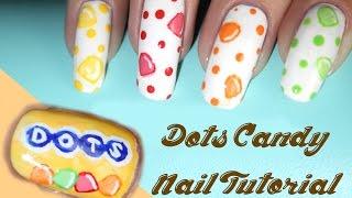 Dots Candy Nail Tutorial