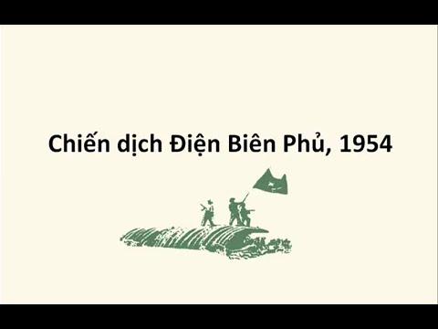 Tóm tắt chiến dịch Điện Biên Phủ 1954