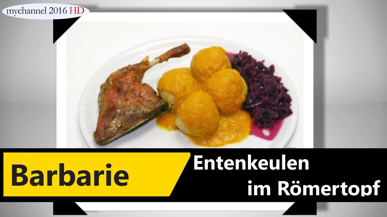 Barbarie Entenkeule