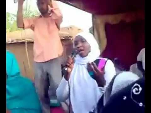 Fur Tribe Culture- Young Fur Tribe Singer in Khartoum; Sudan