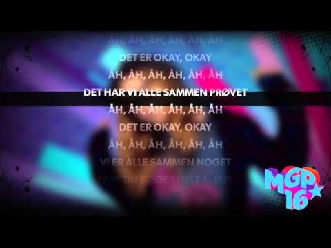 Edda - Helt Okay | Karaoke | MGP 2016
