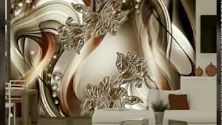 Amazing 3D wall paper designs for modern homes