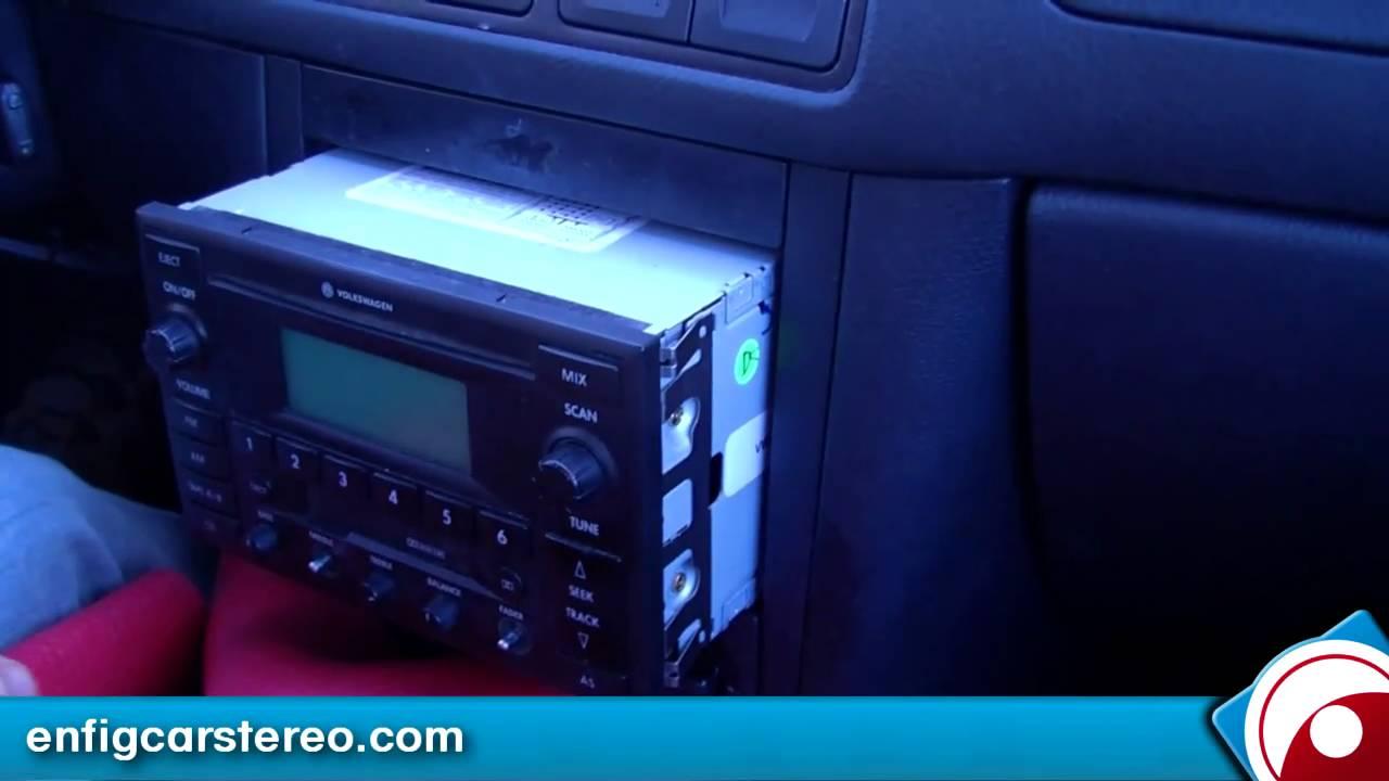 2002 Volkswagen Jetta Stereo Wiring Diagram Mopar Ignition Control Module Aux Input Installation 5 2005 Blitzsafe Vw Dmx V Youtube