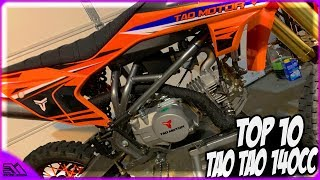 TOP 10 Things I Hate About The Tao Tao DBX1 140cc Chinese Dirt Bike!