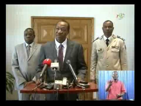 Blaise Compaoré parle avec humour de sa santé!