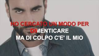 Marco Mengoni - Sai che - Karaoke con testo